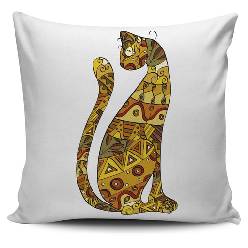 Egyptian Cat Throw Pillow Cover