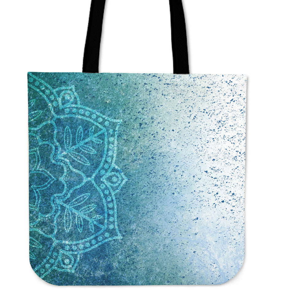 Tote Bag Mandala Blue