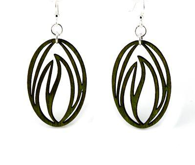 Grass Blade Earrings