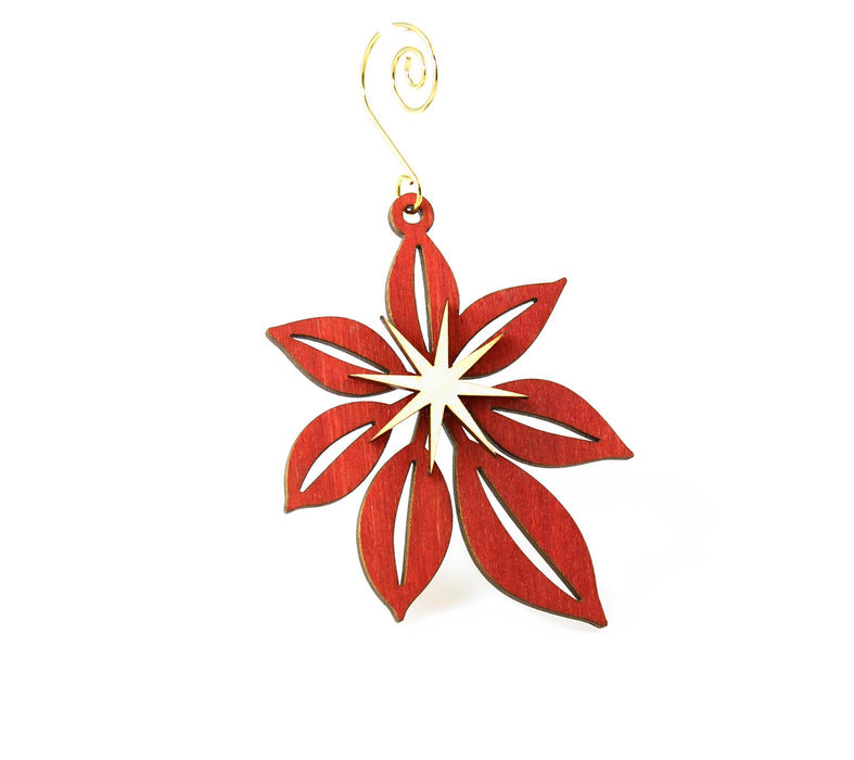 Poinsettia Ornament # 9992