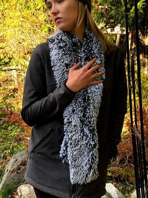 Incredibly Soft, Plush Women's Scarf - Winter Scarf