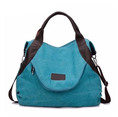 Canvas Hobo Bag