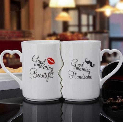 Kissing Couple Mug Set