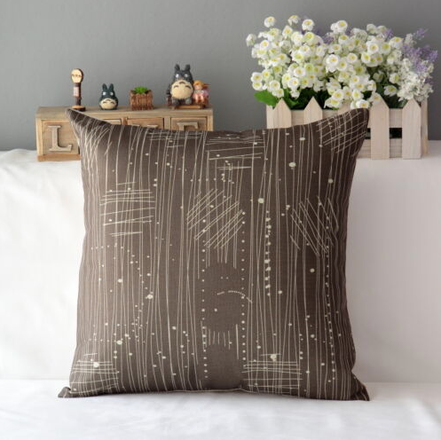 Contemporary graphics modern pillowcase