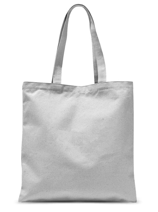 Dancing Paint Brush Sublimation Tote Bag