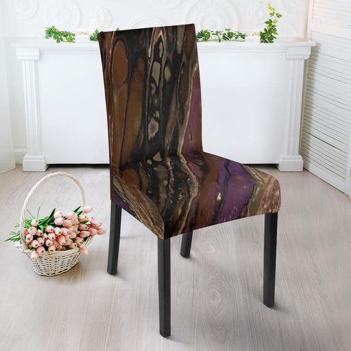 Artisan-Designed Abstract Art Chair Slip Covers