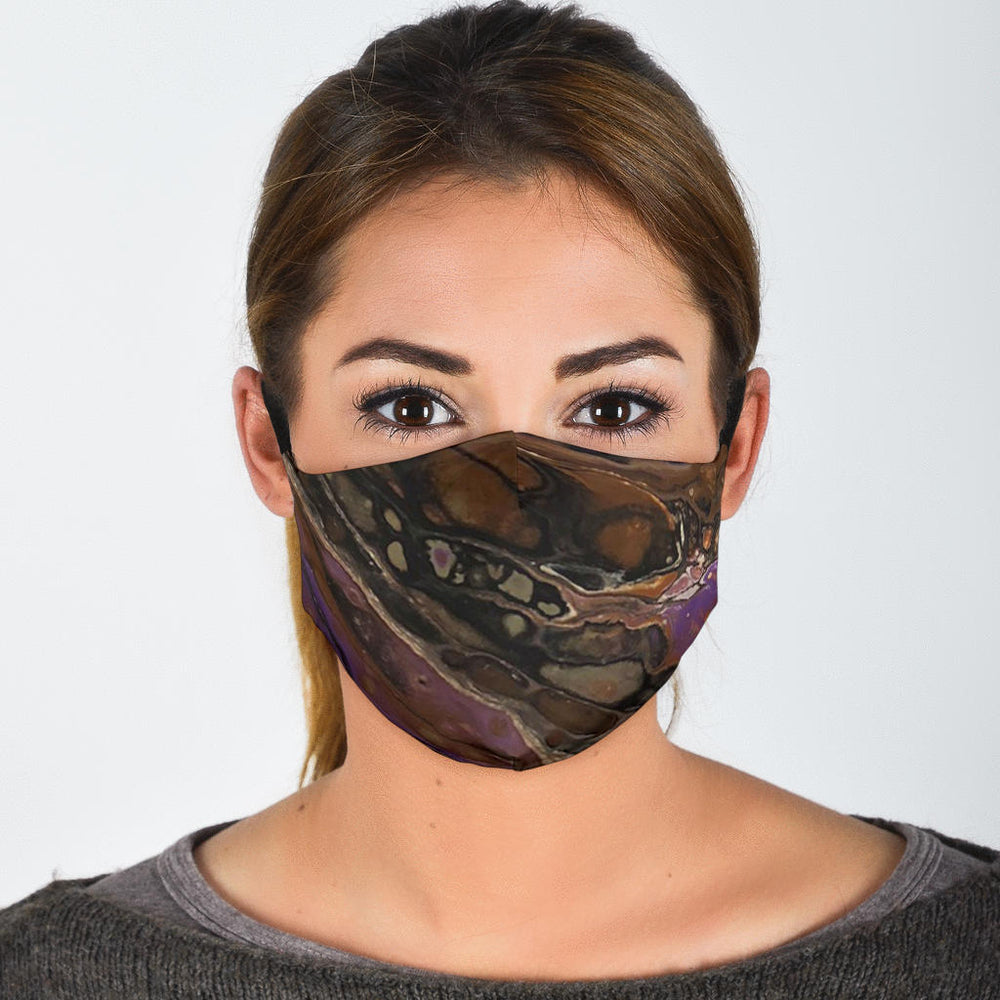 Classy Abstract Face Mask