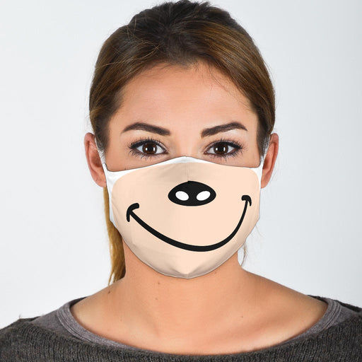 Cute Bear Face Mask