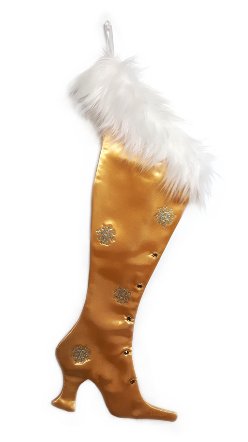 The Gold Topaz Victorian Christmas Stocking - Wholesale