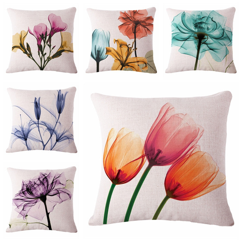 Art Blossoms Throw Pillow Covers
