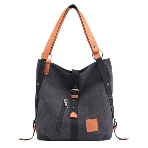 Women's Canvas Convertible Backpack Purse!