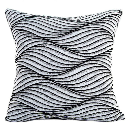 Waves Throw Pillow Covers