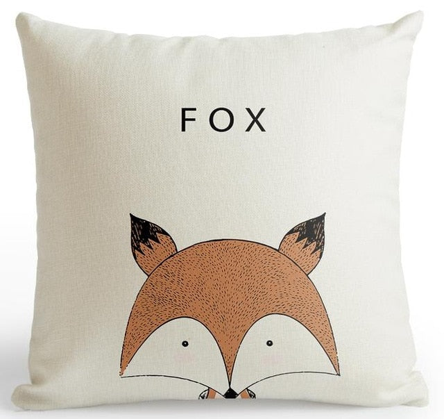 Cute, Kawaii Cartoon Animal Thow Pillow Covers