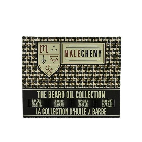 Collection d'huiles à barbe Malechemy