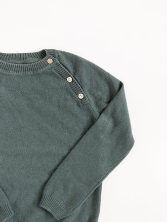 Cashmere Silk Pullover Sweater