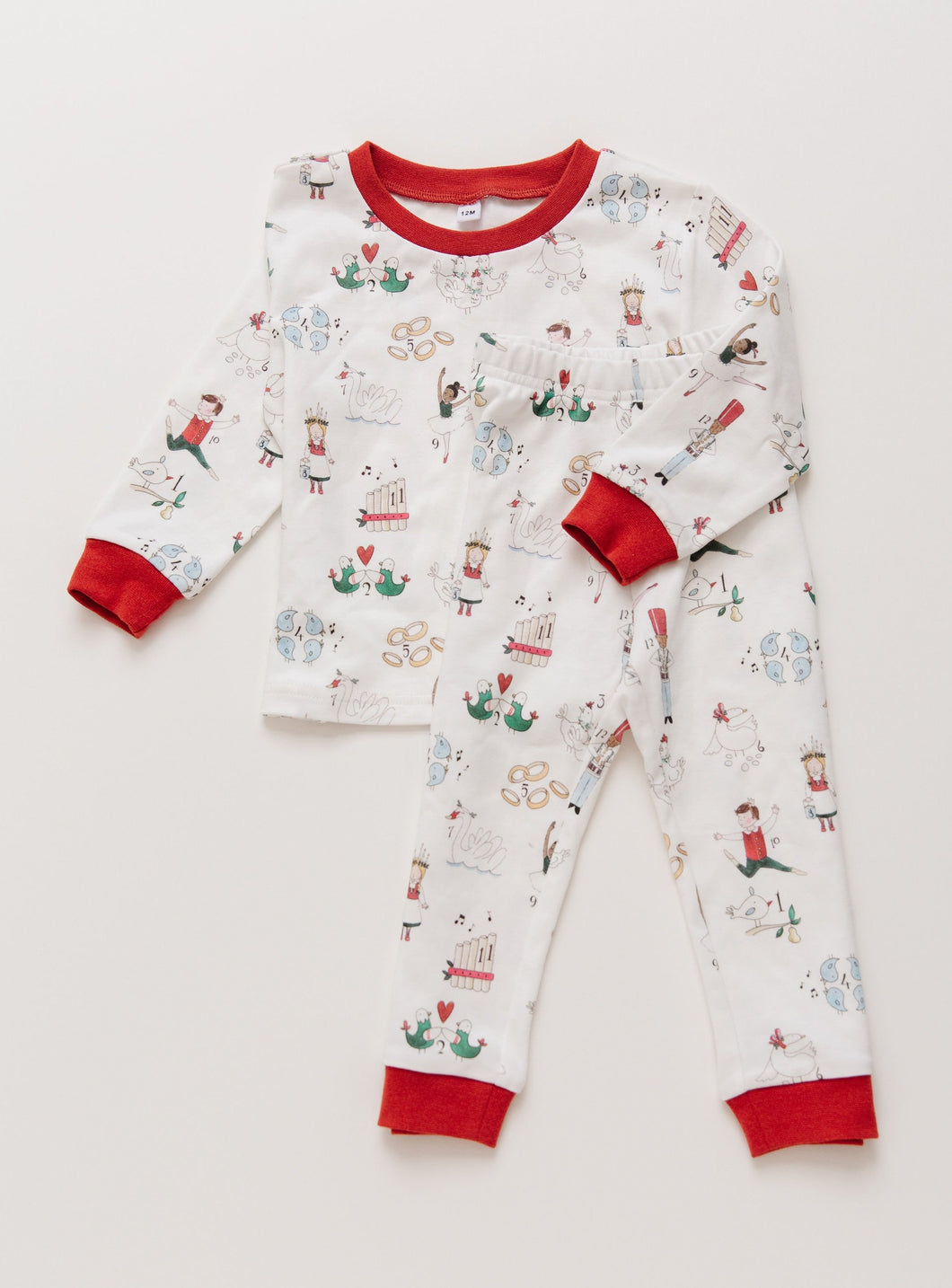 Twelve Days of Christmas Pajamas