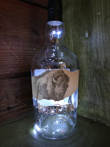 Buffalo Trace Bourbon LED Bottle Display
