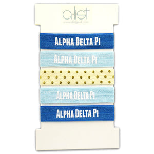 Sorority Hair Tie Sets