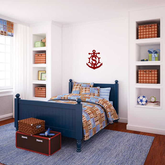 Anchor Wooden Monogram