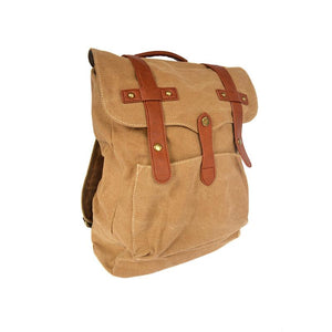 Bellemonde® Washed Canvas Backpack