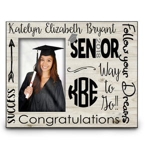 Woodgrain Graduation Frame