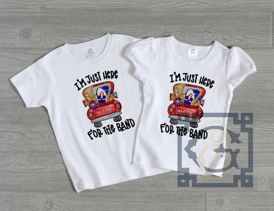I'm Here for the Band Kid's Tee - Oak Mountain