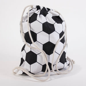 Kid's Soccer Drawstring Backpack