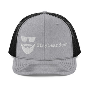 Hats - Staybearded® Trucker Hat (black & grey)
