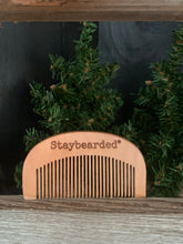 Staybearded® Wooden Beard Comb