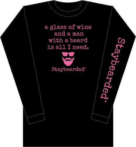 "Long Sleeves Ladies ""all I need"" shirt"