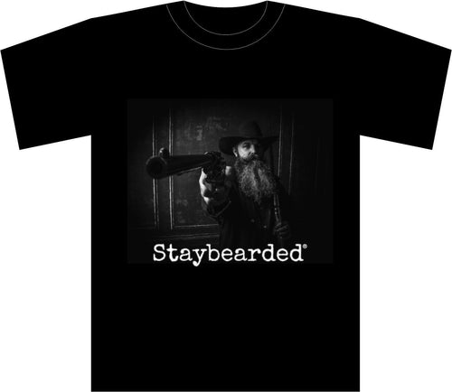"Staybearded® T-shirts ""Western Theme"""
