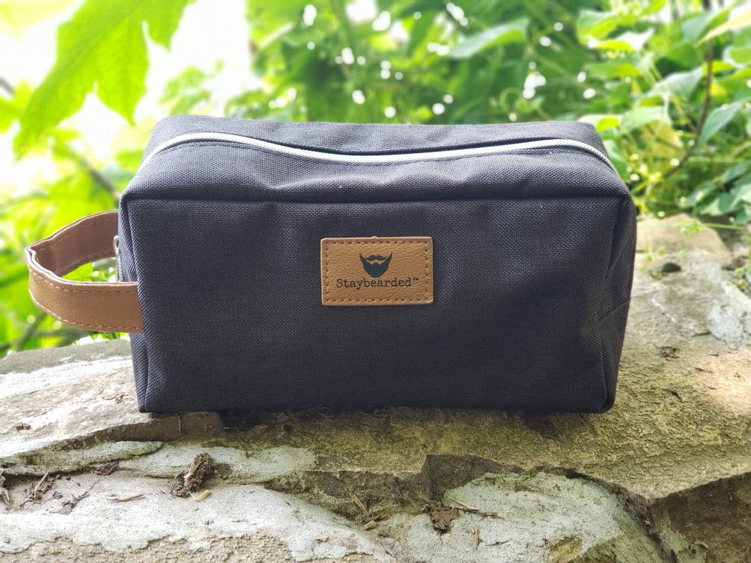 Small Travel Bag - Staybearded® Toiletry Bag.