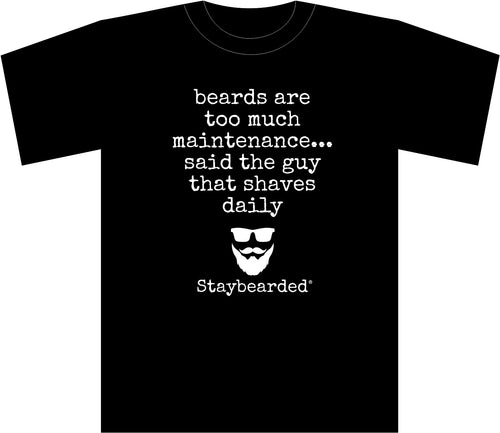 Staybearded® Beard Maintenance T-shirt