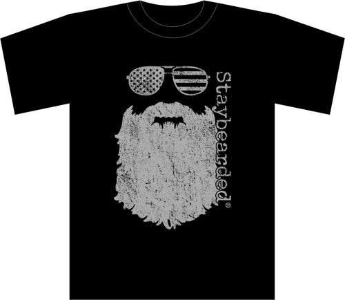 Staybearded® T-shirts - Beard & Sunglasses