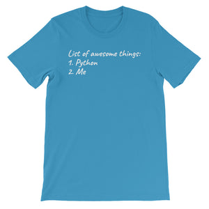 List of awesome things T-Shirt