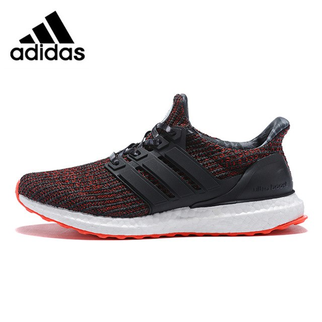 Adidas Ultra Boost 4.0 UB 4.0 Popcorn Men Running Shoes Sneakers Sports Black White for Men BB6166 40 44