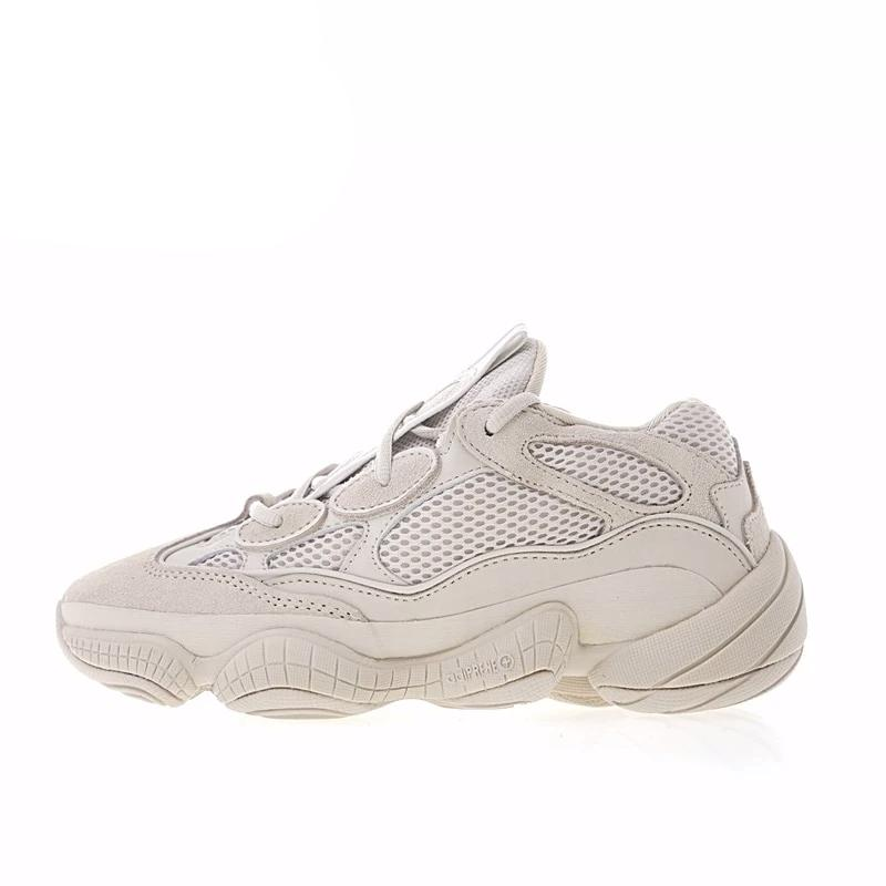 the best attitude e9fc2 6e209 Adidas Yeezy 500 Unisex Running Shoes Original New Arrival Official Utility  White DB2966