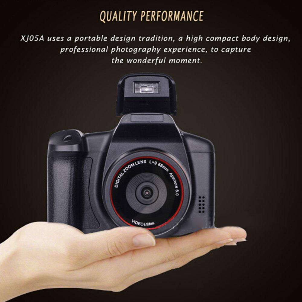 Digital Camera Selfie Optical Zoom Premium Digital Video Photography Shooting 1200W Full HD Camcorder Support SD Card Photo 4X - Cadeau Me