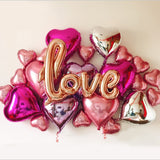 30pcs/lot Wedding Decoration Balloons Lot Aluminium Foil Ballon Birthday Party Decorations Adult Valentine's Day Party Supplies