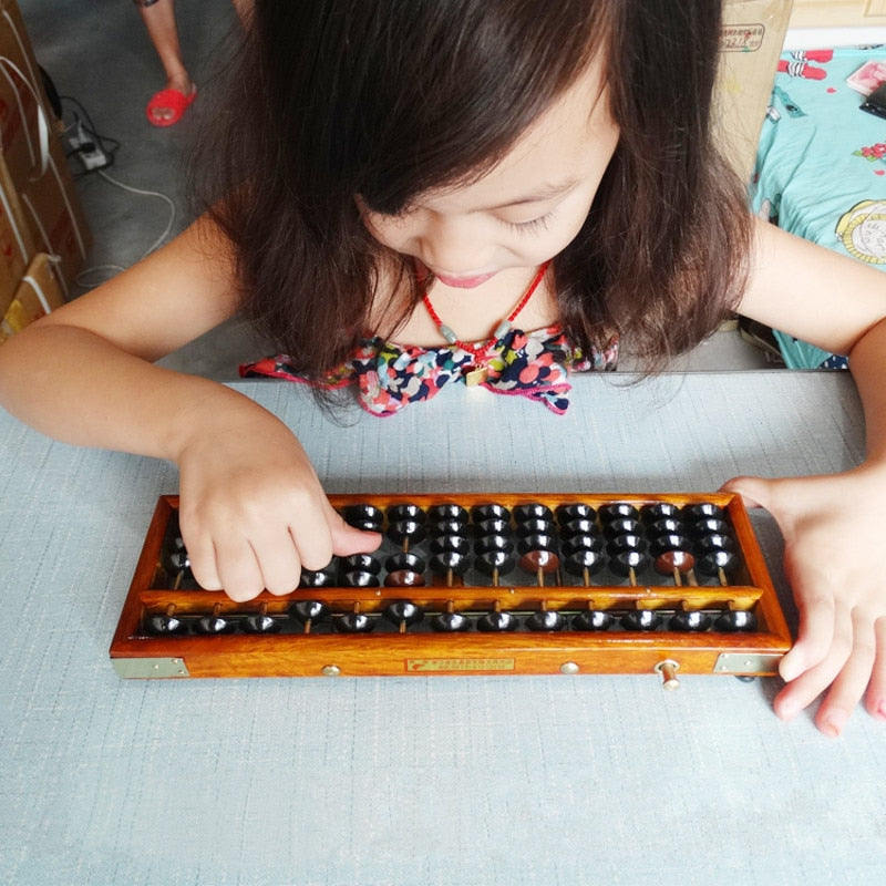 Hot Sale Wooden Frame Classic Ancient Calculator Abacus Soroban Plastics Bead Toy Develop Kid's Mathematics Abacus Intelligence - Cadeau Me