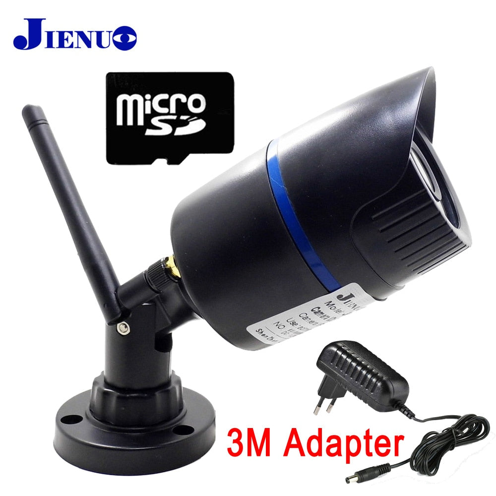 JIENU IP Camera wifi 720P 960P 1080P CCTV Security Surveillance Outdoor Waterproof wireless home cam Support Micro sd slot ipcam - Cadeau Me