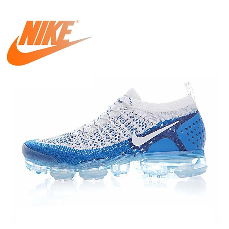 sports shoes 72084 df65a NIKE AIR VAPORMAX FLYKNIT 2.0 Original Authentic Mens Running Shoes  Breathable Sport Outdoor Sneakers Walking jogging 942842