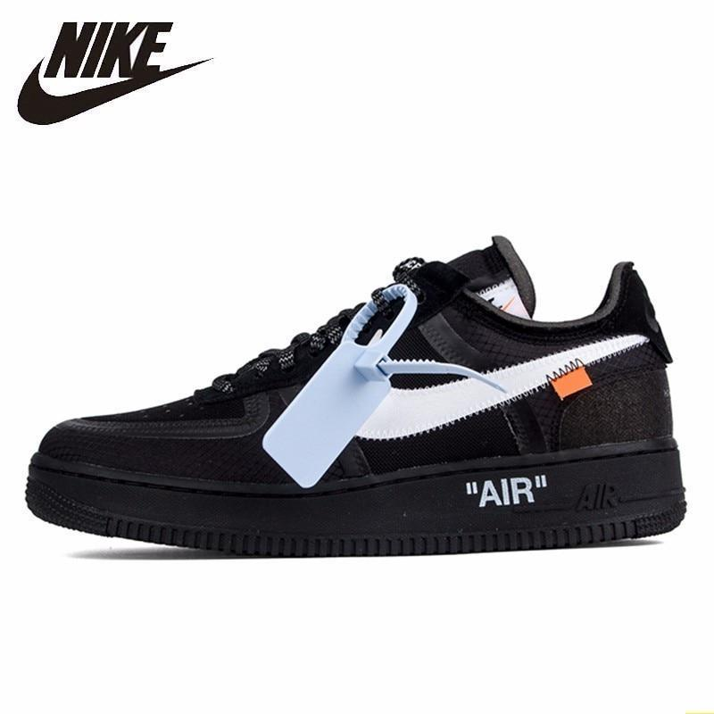 Off White Shoes Nike Air Force 1 Original Off-white Ow Jointly Men Skateboarding ...