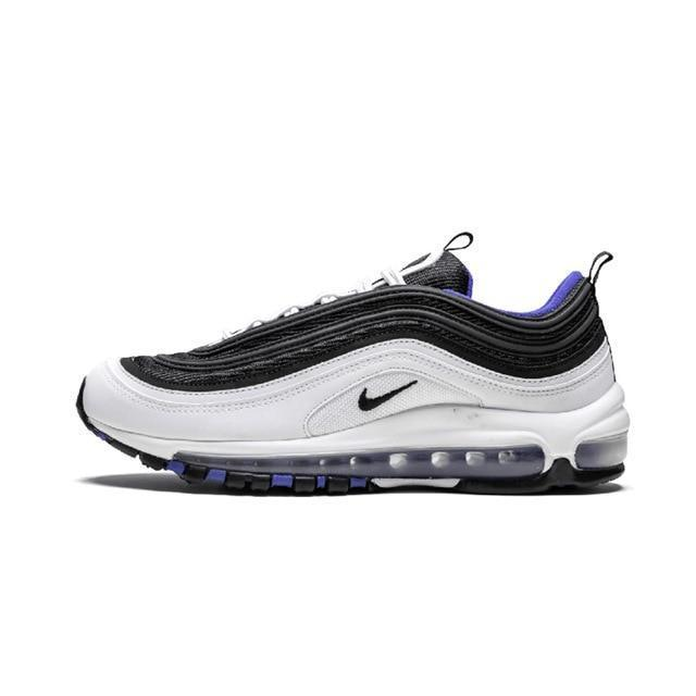 Original Authentic Nike Air Max 97 LX Men's Running Shoes Fashion Outdoor Sports Shoes Breathable Comfort 2019 New AQ4137 101