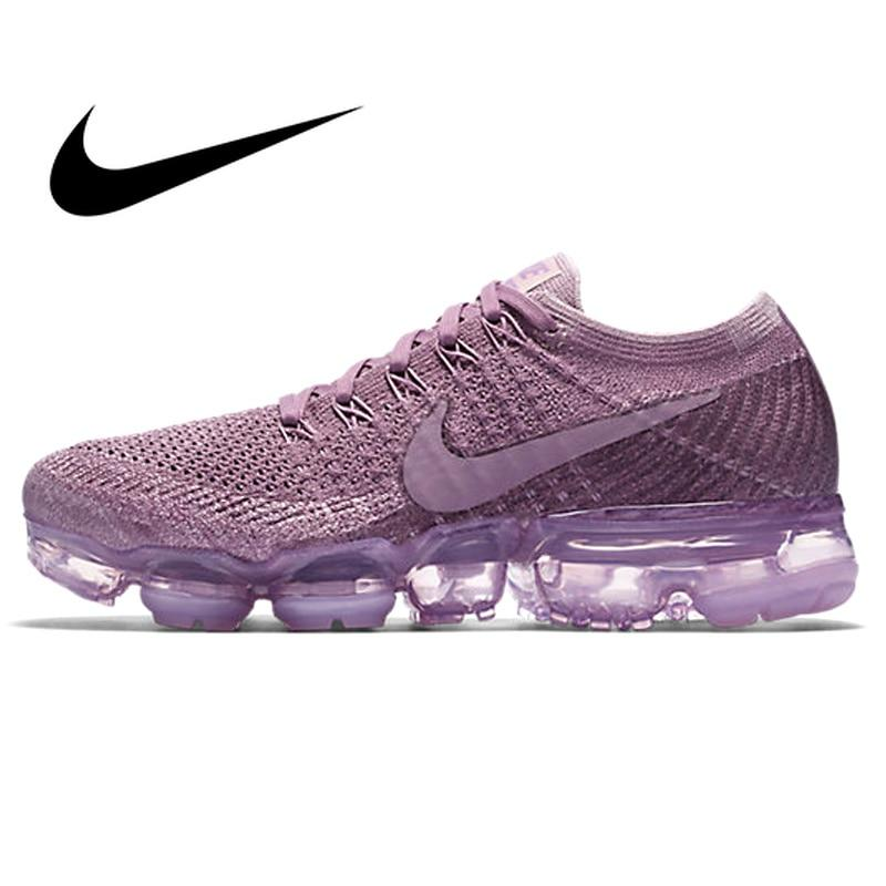 c2068ad69060 Original Authentic Nike Air VaporMax Flyknit Women s Breathable Running  Shoes Outdoor Sneakers Good Quality 2018 New 849557-500 - Cadeau Me