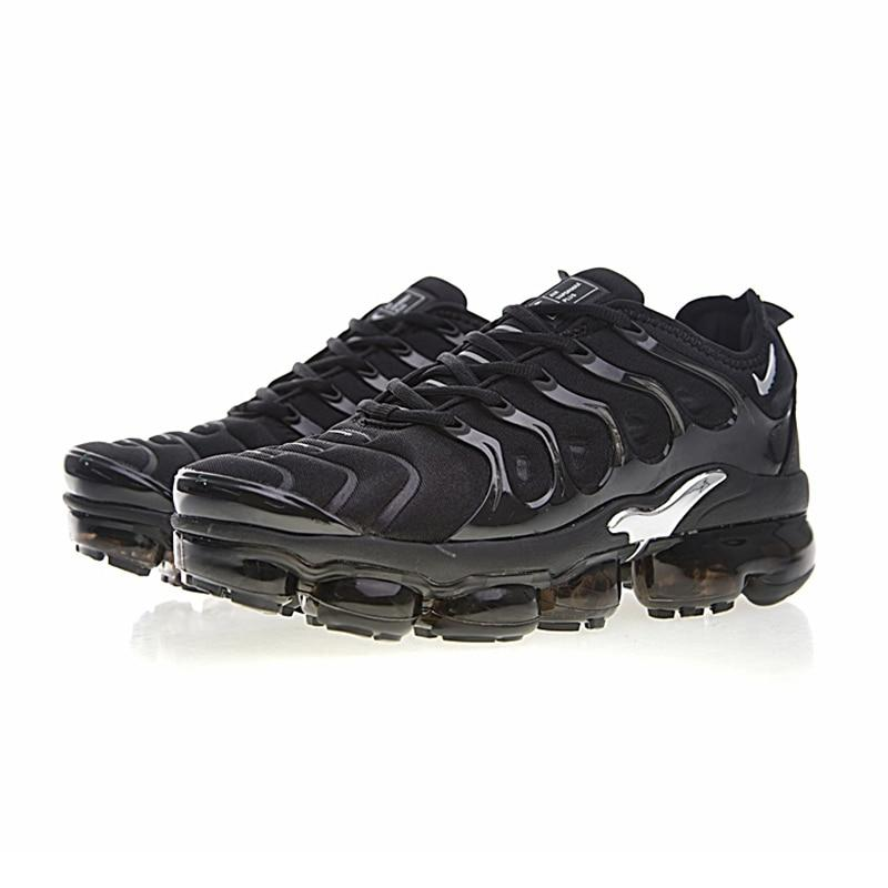 official photos bad6f cda1e Original Authentic Nike Air Vapormax Plus TM Men's Running Shoes Outdoor  Sneakers Comfortable Breathable 2018 New Arrival 924453