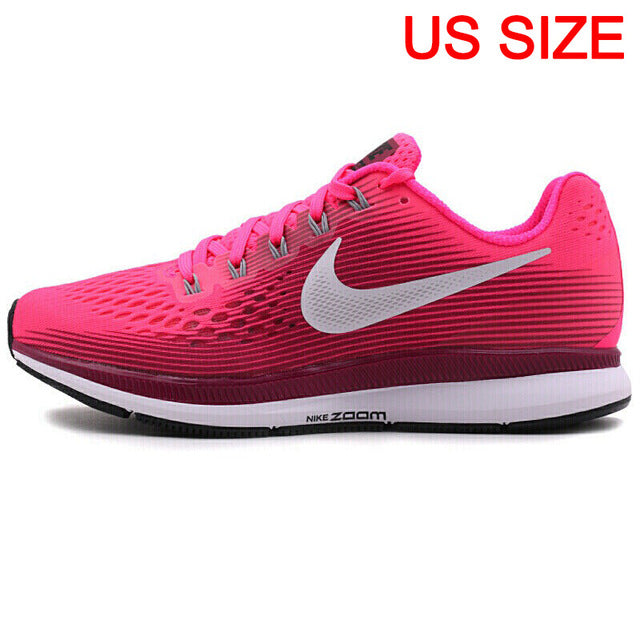 Original New Arrival 2018 NIKE  AIR ZOOM PEGASUS 34 Women's Running Shoes Sneakers