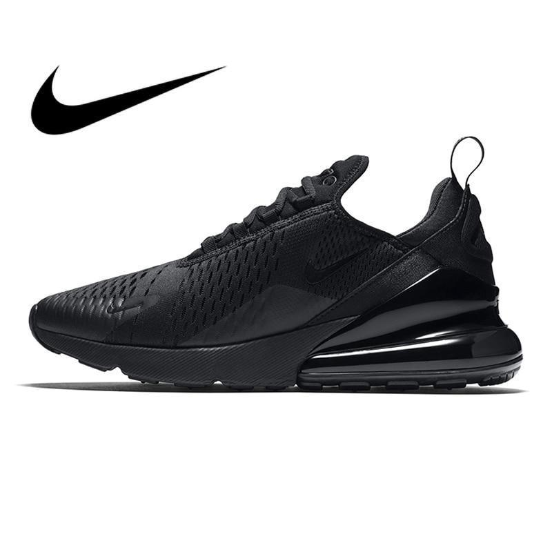 ac2476e54c900 Original Nike Air Max 270 Men's Running Shoes Sneakers Outdoor Sport  Breathable Lace-up Jogging