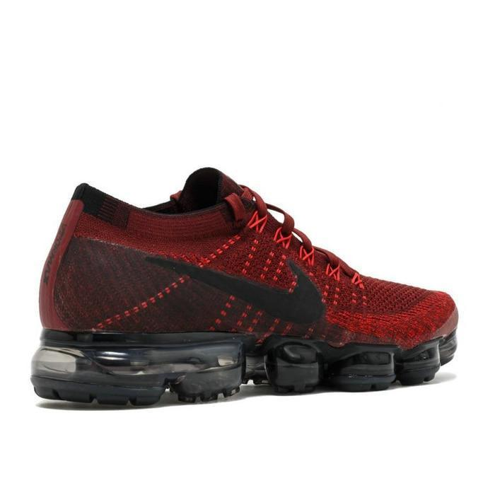 best website 63fe1 a44ab Original Nike Air VaporMax Be True Flyknit Breathable Running Shoes Men  Outdoor Sports Low Top Athletic Official Sneakers