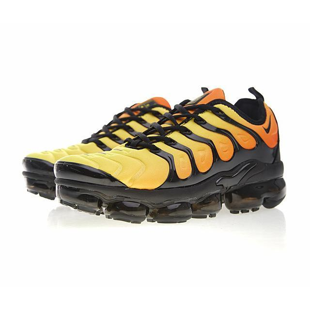 Original Nike Air Vapormax Plus TM Men's Running Shoes Sports Breathable Comfortable Sneakers Outdoor Designer Footwear 924453 - Cadeau Me